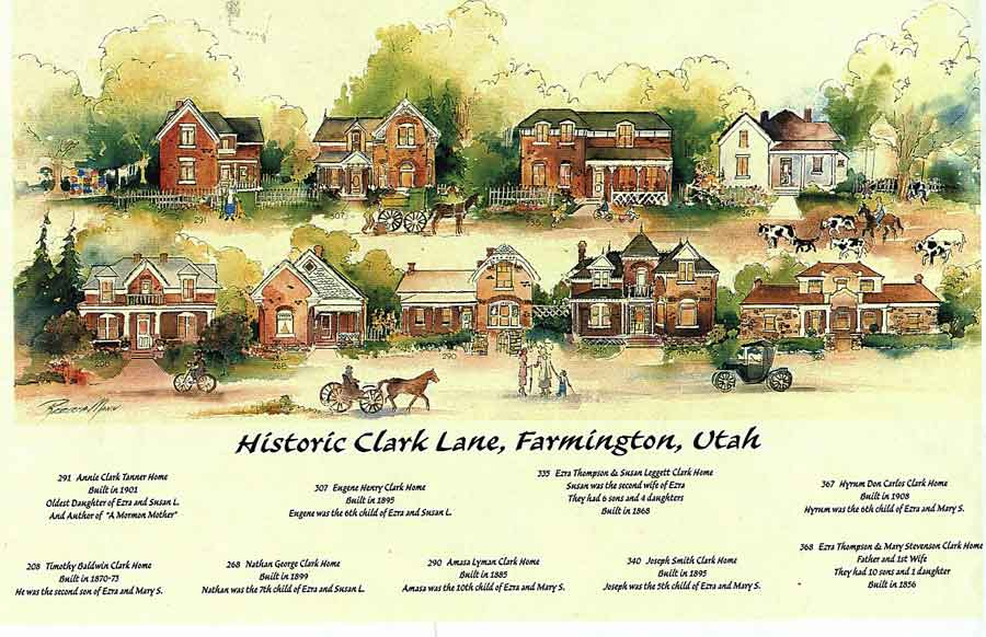 Illustration of Clark Lane Homes